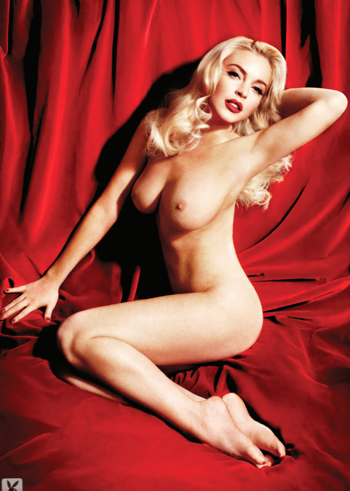 Excellent Lindsay lohan poses nude something is