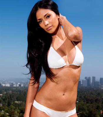 nicole-scherzinger-in-white-bikini