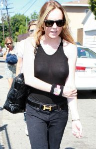 Lindsay Lohan and Samantha Ronson's Shopping Spree