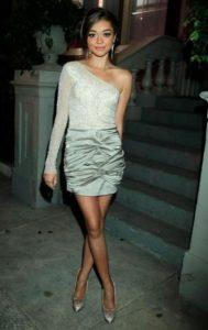 hot-sarah-hyland-in-mini-dress