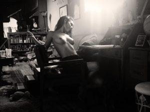 Caitlin Jean Stasey Topless Photo