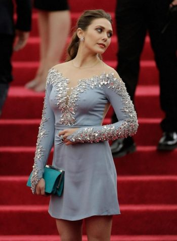 Elizabeth Olsen Hard Nipples