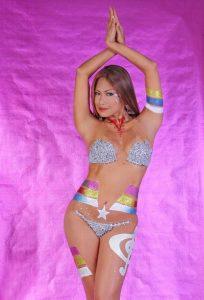Francine Missaka Sexy Body