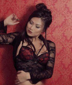 Francine Missaka in sexy lingerie photo