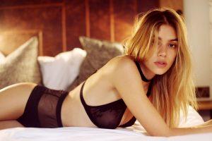 Joanna Halpin in sexy lingerie