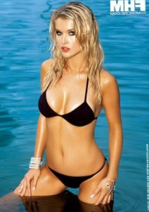 Joanna Krupa in bikini photoshoot for FHM