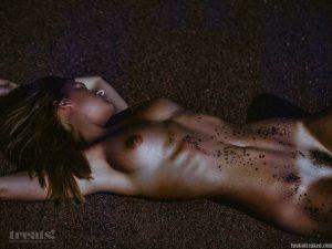 Marisa Papen Naked Photoshoot for Treats Magazine