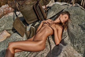 Maya Stepper Naked Photoshoot