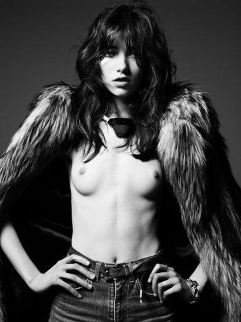 Model Grace Hartzel Topless