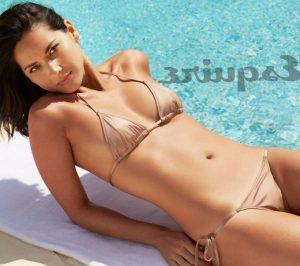 Olivia Munn in mini bikini