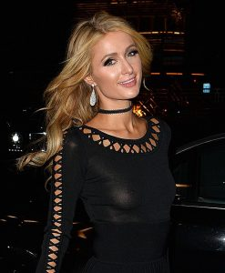 Paris Hilton See Through Photo
