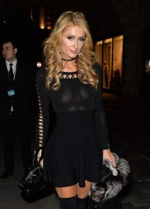 Paris Hilton See Through Pic