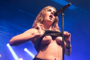 Tove Lo Tits on stage