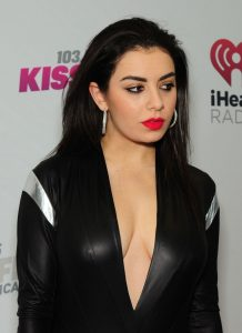 Charli XCX Cleavage and Pokies