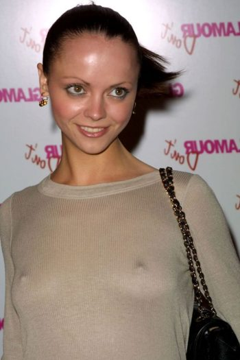 Christina Ricci Braless Pictures