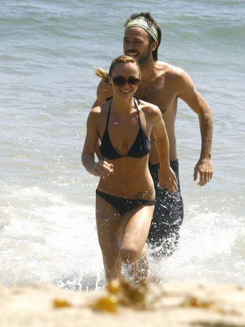 Christina Ricci in black bikini