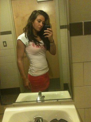 Miesha Tate leaked selfie