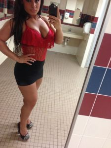 Seleziya Sparx big cleavage