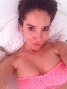 Sandra Ahrabian sexy bra